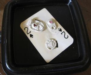 Pmc pendant pieces