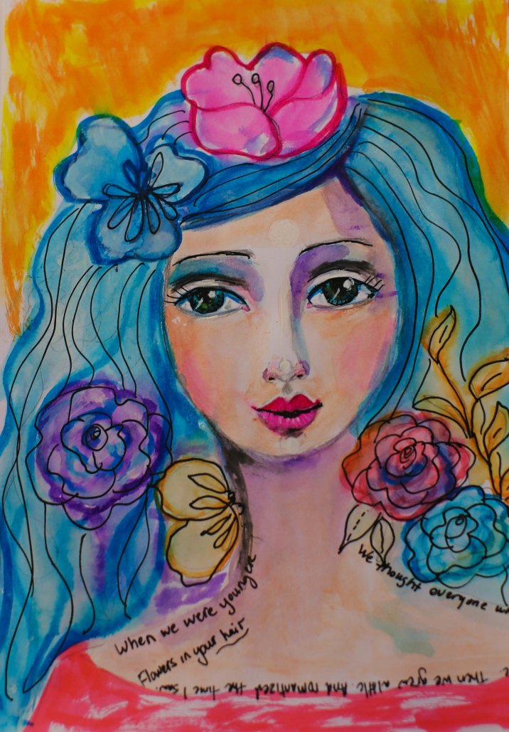 Watercolor 1 Print 8x10 $10.00 plus shipping ~ Raquel Amaral